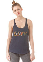 OBEY Womens Collage Top mood indigo