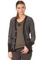 OBEY Womens Distant Shore Cardigan black