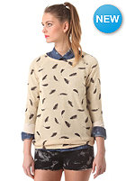 OBEY Womens Echo Mountain Sweat feather