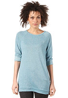OBEY Womens Echo Mountain Sweatshirt delphenium blue