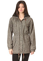 OBEY Womens Everett Jacket leopard