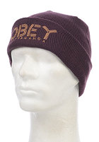 OBEY Womens Freestyle Beanie plum