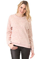 OBEY Womens Kloss Crew heather red