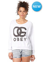 OBEY Womens Og Forever Longsleeve natural white
