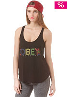 OBEY Womens Pret A Mourir Top black