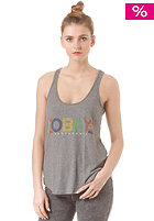 OBEY Womens Pret A Mourir Top heather grey
