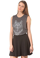 OBEY Womens Thunder Wolf Top black