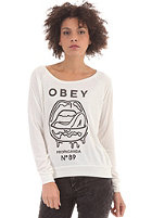 OBEY Womens Wet Lips Longsleeve dusty light grey