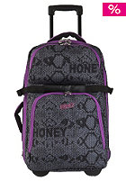 OCEAN & EARTH Compact Wheel Travel Bag violet