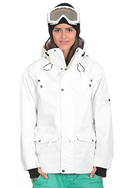 OCEAN & EARTH HONEY/ Womens Diamond Jacket white