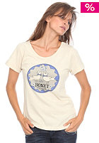 OCEAN & EARTH HONEY/ Womens First Date S/S T-Shirt vanilla