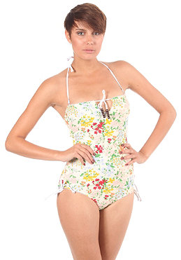 OCEAN & EARTH HONEY/ Womens Sun Kiss Bathing Suit vanilla