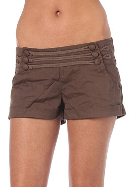 OCEAN & EARTH HONEY/ Womens Tide Shorts chocolate