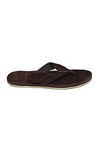OCEAN & EARTH Leather Thongs Chillaxin brown