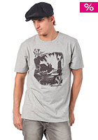 OCEAN & EARTH Nine To Five S/S T-Shirt light grey marle