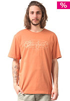OCEAN & EARTH Script Regular S/S T-Shirt caramel