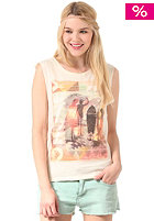 Womens Anise Muscle S/S T-Shirt soy