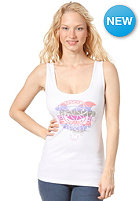 OCEAN & EARTH Womens Love Logo Singlet Top white