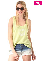 Womens Switch Singlet Top lime marle