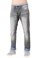 ONE GREEN ELEPHANT Chico Pant blue denim/neon blue td