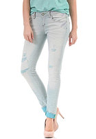 ONE GREEN ELEPHANT Womens Imizu Jeans Pant bleached denim / aqua td