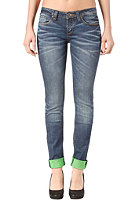 ONE GREEN ELEPHANT Womens Kosai Pant blue denim/green dd