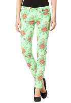ONE GREEN ELEPHANT Womens Kosai Pant neon green flower patterned