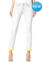 ONE GREEN ELEPHANT Womens Kosai Up Pant blue denim/light yellow dd