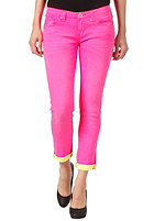 ONE GREEN ELEPHANT Womens Kosai Up Pant neon pink/neon yellow