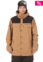 ONEILL Button Up Jacket tobacco brown