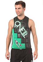 ONEILL Checkmate Comp Vest black/clean green