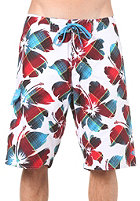 ONEILL Floater Boardies white/aop w. red