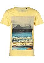 ONEILL Glitch S/S T-Shirt gold haze