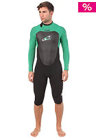 ONEILL Gooru GBS 4/3mm Length 3/4 2012 Wetsuit black/clean green/white