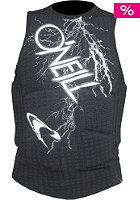 ONEILL WETSUITS Gooru Padded Comp Vest blacktron/white