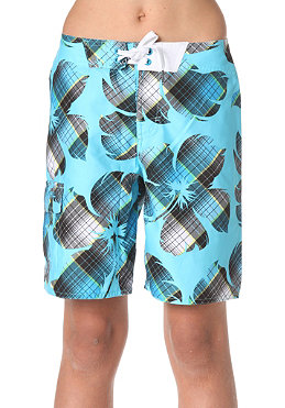 ONEILL KIDS/ Bigflowercheck Boardshorts blue/aop