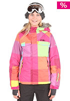 KIDS/ Girls Tigereye Jacket yellow/aop