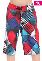 ONEILL Kids Gradient Tiles Boardshorts white/check/red