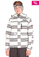 ONEILL Kids Hubble Check Jacket white/aop/black