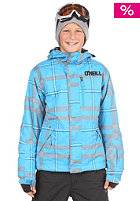 ONEILL Kids Hubble Check Jacket white/aop