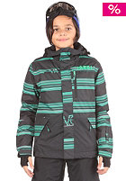 ONEILL KIDS/ Hubble Jacket black/aop/green