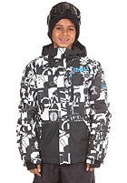 ONEILL KIDS/ Hubble Jacket white/aop