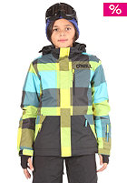 ONEILL KIDS/ Hubble Jacket yellow/aop