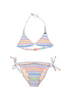 ONEILL Kids YD Stripe Triangle Bikini white aop