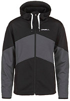 ONEILL Line Up Hooded Zip Fleece black out