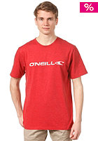 ONEILL Pencil Logo S/S T-Shirt rust red