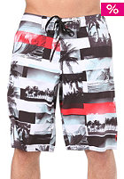 ONEILL Photopanel Boardshorts white/aop w. red