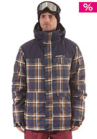 ONEILL Pmes Grid Jacket blue/aop/white