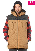 ONEILL Pmfr Double -Up Vest tobacco brown