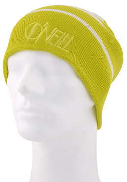 ONEILL Reversible Striped Beanie poison/yellow